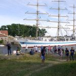 Stor stas med Tall Ships Races på Isegran i 2014. Foto Christine Lande