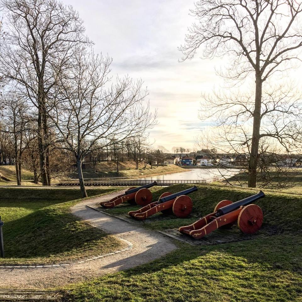Vollene Fredrikstad festning, gamlebyen. Foto: Bente Instanes