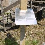 Mobilformidlingsløype ble laget i 2013. Når du ser en av disse flotte skiltene kan du scanne QR kodene og lære mer om Isegrans historie