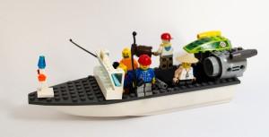 Fiskebåt laget av Julius Hassel