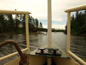 Med Blåsuppen går reisen in i nye områder. Foto: Bodil Andersson, Østfoldmuseene Halden historiske Samlinger