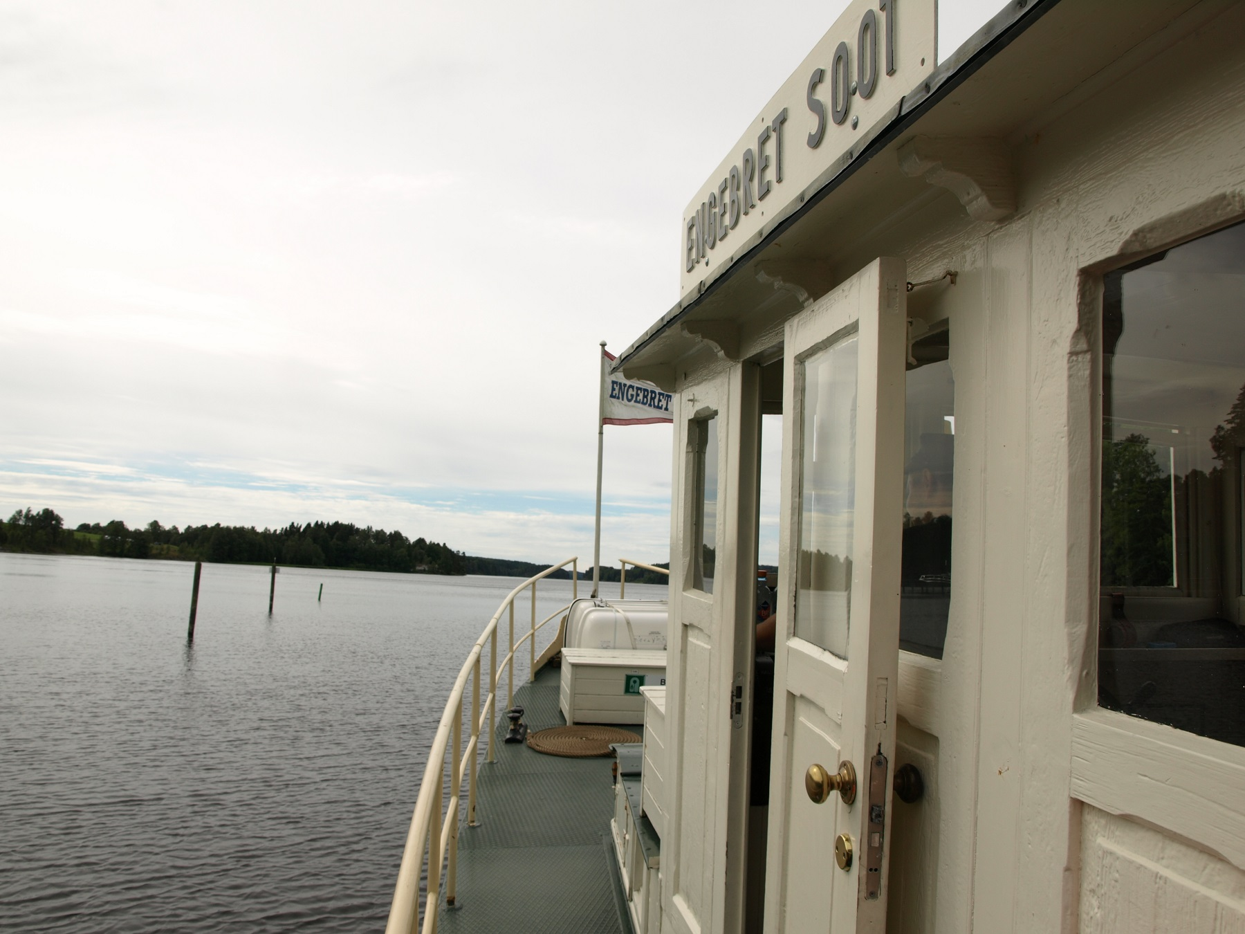 Nedover Lifjorden sør for Ørje. Foto: Bodil Andersson, Østfoldmuseene Halden historiske Samlinger