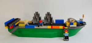Sjørøverskip laget av Jacob Ødegaard