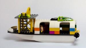 Hurtigbåt laget av Sigrid Stensvoll Johansen