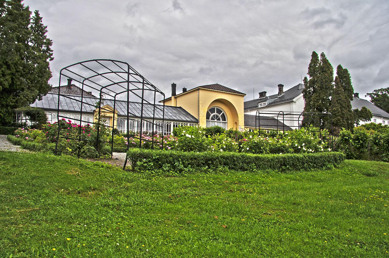 Drivhuset på Rød. Foto: Espen Nordenhaug