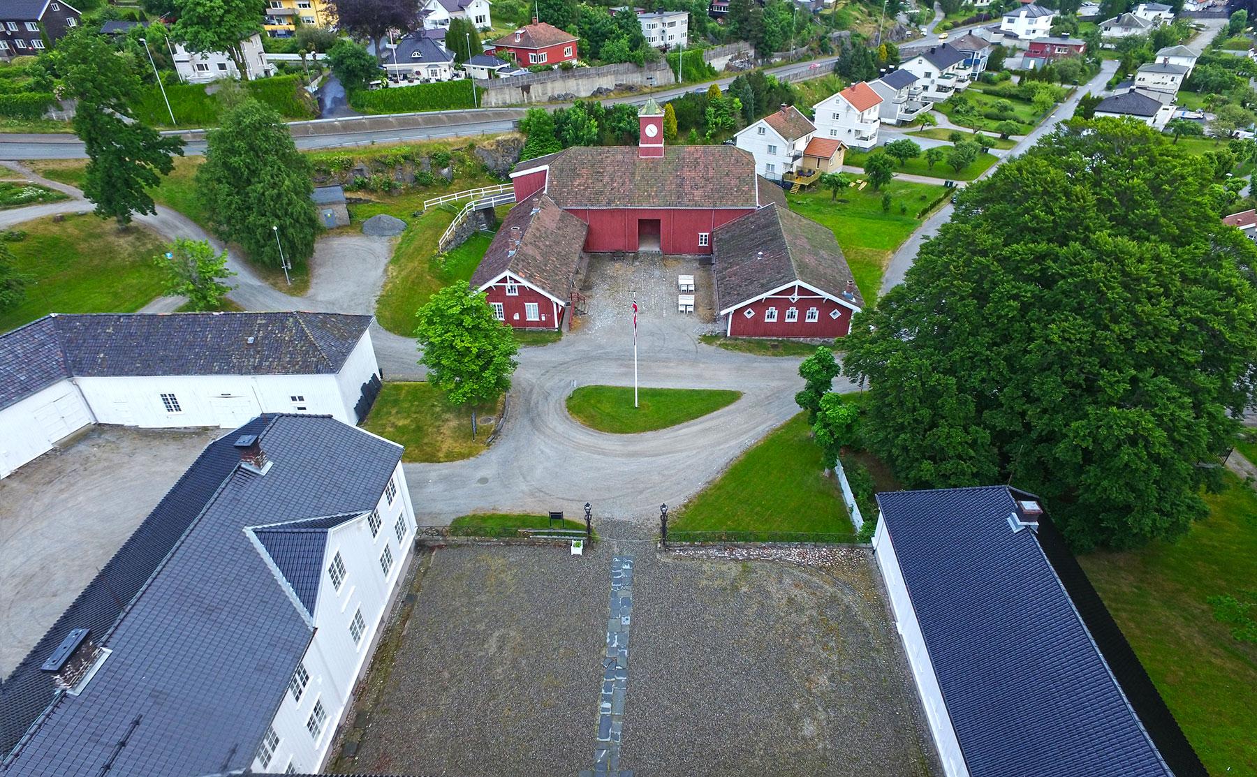 Rød Herregård. Foto: Espen Nordenhaug