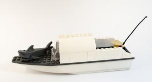 Fiskebåten «LC7893» laget av Eva Ingebriktsen