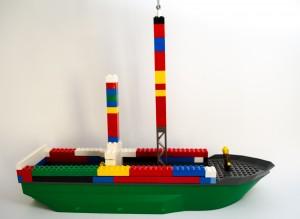 «Titanic» laget av Alexander Gudin
