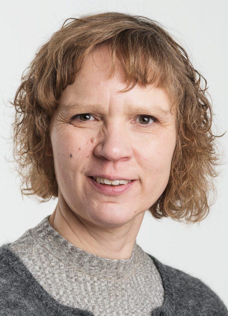 Bodil Andersson. (Foto Øyvind Andersen, Østfoldmuseene)