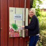 I Verket 20 har vi en egen automat der du kan lukte den ekte Mosselukta! Foto: Ayse Akkoca / Østfoldmuseene