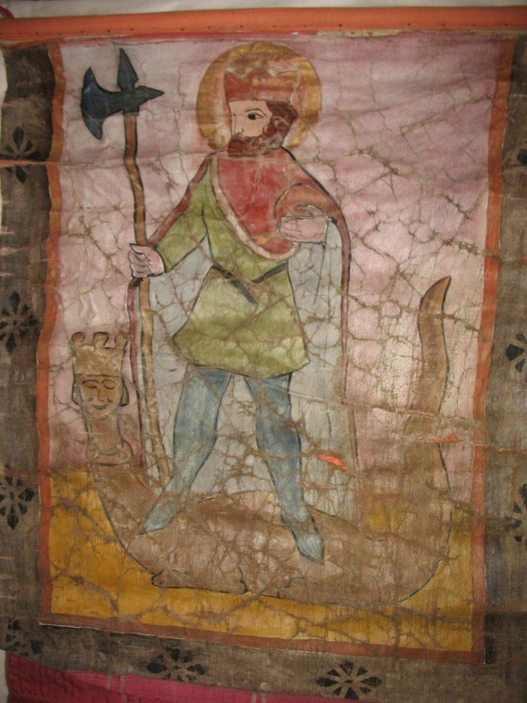 Olavsfane BrM.11593. Foto: Mona Beate B. Vattekar