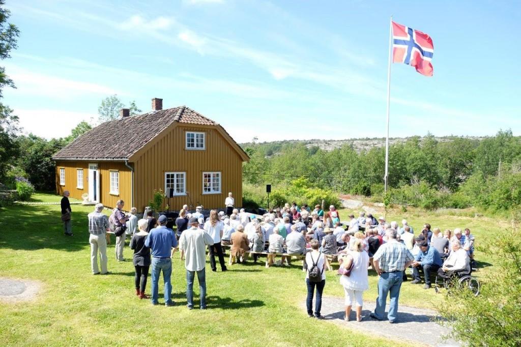 Åpning av sommerutstillingen 2015 på Kystmuseet Hvaler (Foto: Gaute Jacobsen, Østfoldmuseene)