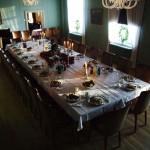 Dekket bord. Foto Fredrikstad Museum