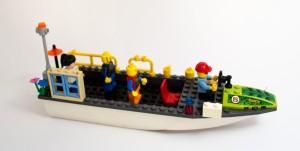 «Blomsterbåten» laget av Elisabeth