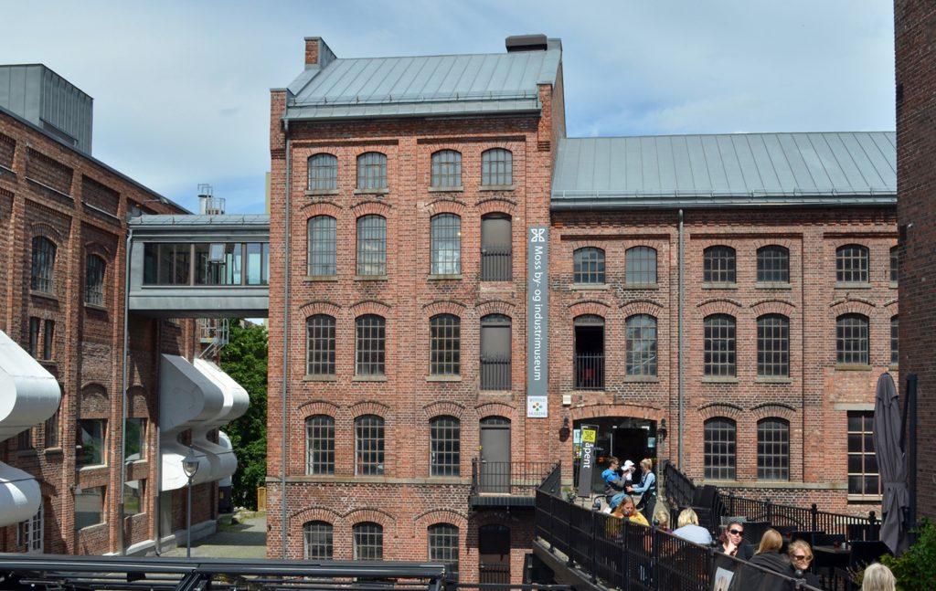 Moss by- og industrimuseum. Foto: Trine Gjøsund