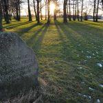 Fredrikstads første garnisonskirkegård lå her på Isegran, Foto Irene A. Ellefsen