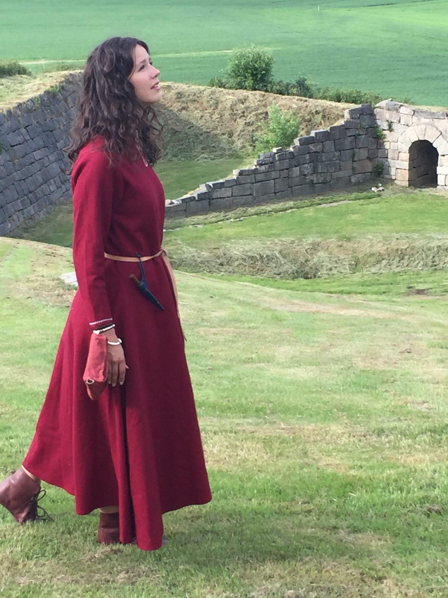 Dramatisert barnevandring med Borghild til Mikladal