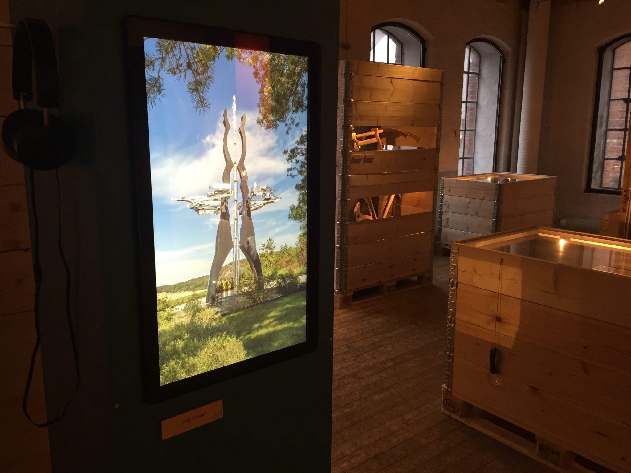 Ode til lysets klang kan høres i utstilling på Moss by- og industrimuseum