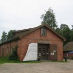 Den første utstillingen museet hadde i minemagasinet het «Hvite seil og salt sjø». Foto Fredrikstad Museum