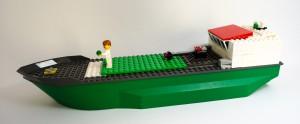 Hangarskip laget av Iben