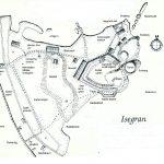 Kart over Isegran. Foto Fredrikstad Museum