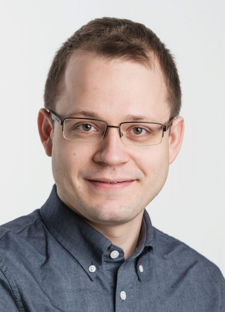 Andreas Pedersen. (Foto Øyvind Andersen, Østfoldmuseene)