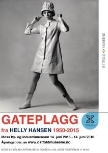 Plakat Gateplagg / Moss by- og industrimuseum 2015