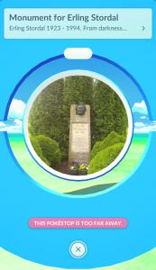 Erling Storedal statuen