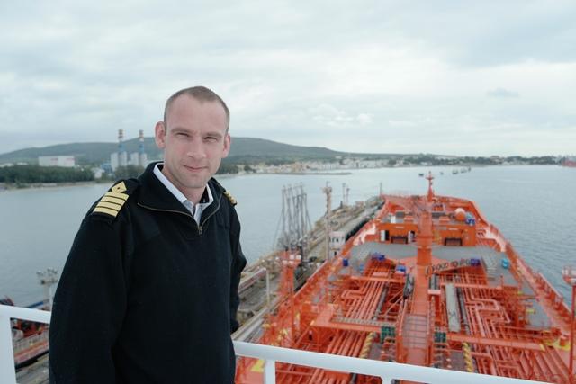 Fra «Velkommen ombord! Sjømenn fra Hvaler forteller». Foto: Privat.