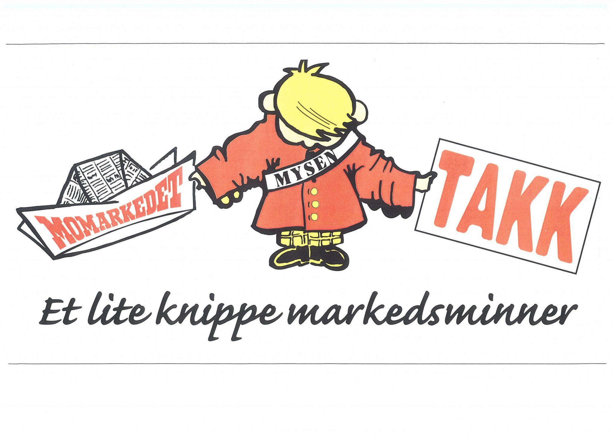 Plakat fra Momarkedet, tegnet av Truls Nygård