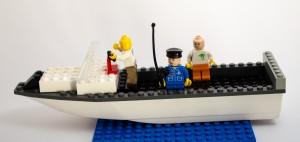 Fritidsbåt laget av Tobias