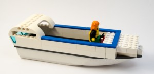 Fritidsbåt laget av Tran