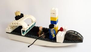 Fiskebåt laget av Vilde Ringsgård