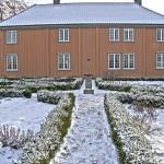 Renessansehagen i vinterdvale. Foto Espen Nordenhaug