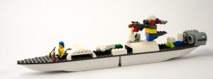 «Piratmons» en racerbåt for pirater laget av Nicolai