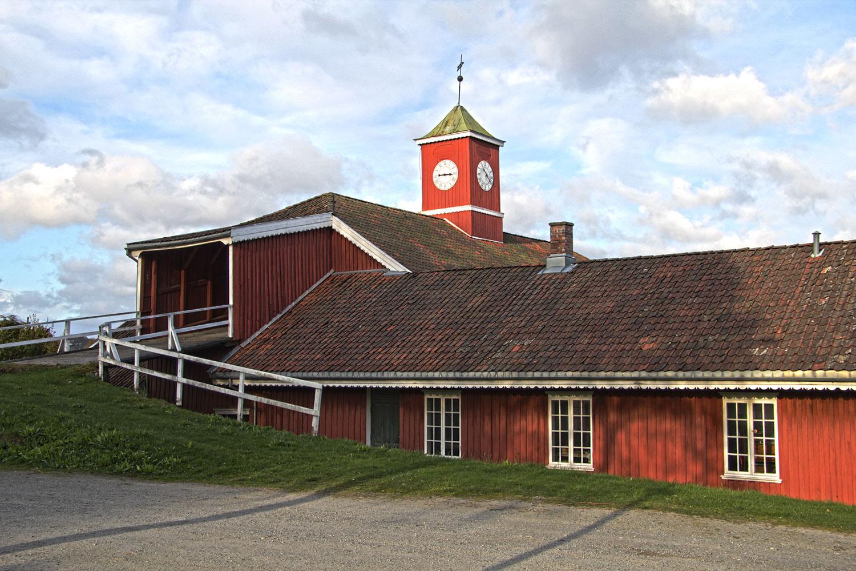 Låven på Rød herregård. Foto: Espen Nordenhaug