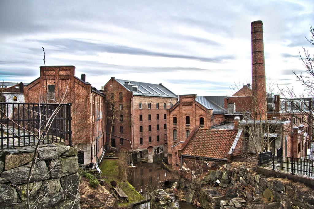 Moss by- og industrimuseum. Foto: Espen A. Nordenhaug