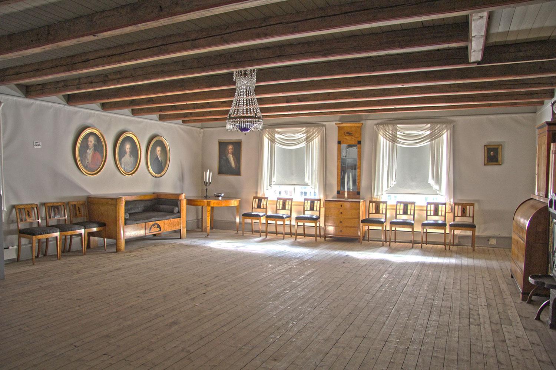 Interiør, Snekkenes, Borgarsyssel Museum. Foto: E. Nordenhaug