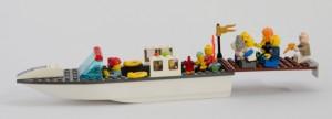 Sjokoladebåt laget av Sander